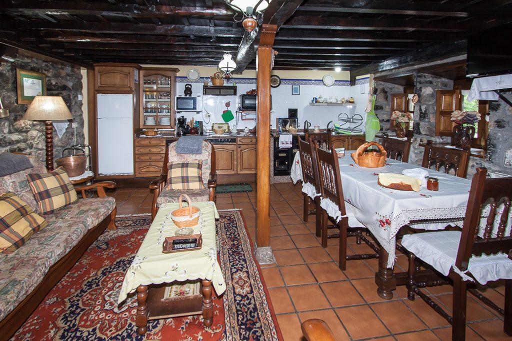 salón - comedor y cocina